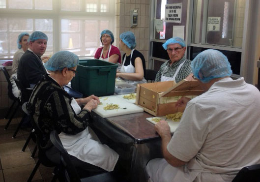 Image of workers at Good Shepherd