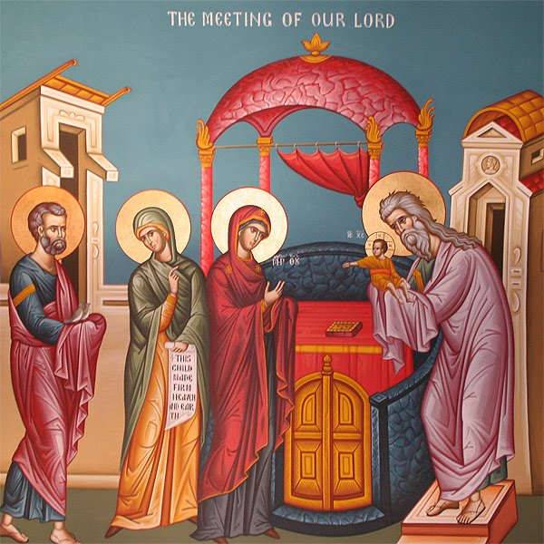 Icon for the Meeting of Our Lord