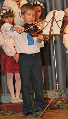 Image from children's concert.