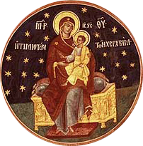 Icon for the Synaxis of the Theotokos