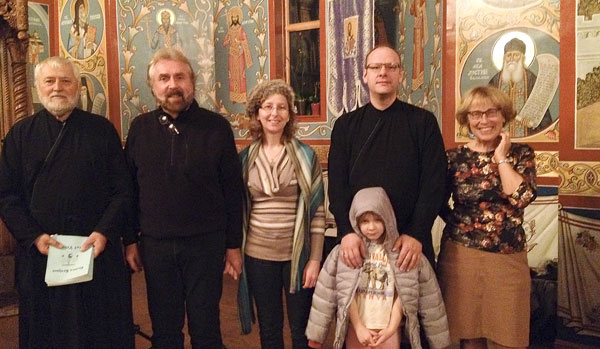 Vespers at the Serbian retreat